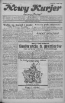 """Nowy Kurjer: dawniej """"Postęp"""" 1932.04.27 R.43 Nr97"""