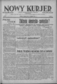 Nowy Kurjer: dziennik poświęcony sprawom politycznym i społecznym 1937.04.04 R.48 Nr77