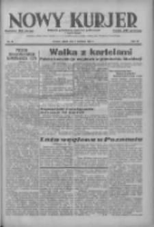 Nowy Kurjer: dziennik poświęcony sprawom politycznym i społecznym 1937.04.09 R.48 Nr81