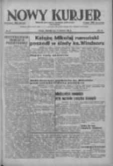 Nowy Kurjer: dziennik poświęcony sprawom politycznym i społecznym 1937.04.11 R.48 Nr83