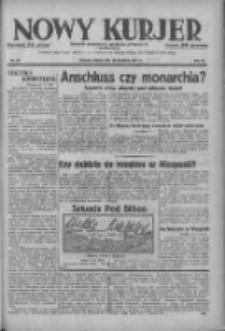 Nowy Kurjer: dziennik poświęcony sprawom politycznym i społecznym 1937.04.17 R.48 Nr88