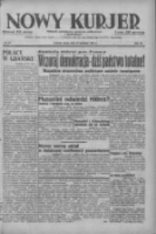 Nowy Kurjer: dziennik poświęcony sprawom politycznym i społecznym 1937.04.21 R.48 Nr91
