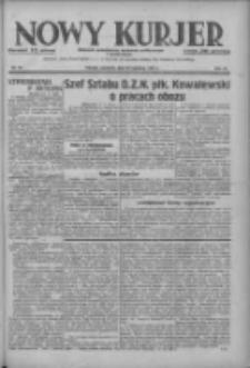 Nowy Kurjer: dziennik poświęcony sprawom politycznym i społecznym 1937.04.22 R.48 Nr92