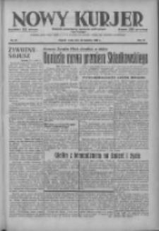 Nowy Kurjer: dziennik poświęcony sprawom politycznym i społecznym 1937.04.28 R.48 Nr97