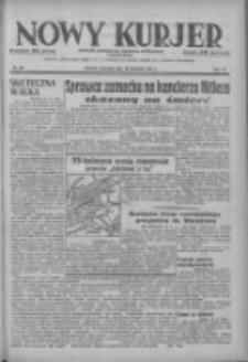 Nowy Kurjer: dziennik poświęcony sprawom politycznym i społecznym 1937.04.29 R.48 Nr98