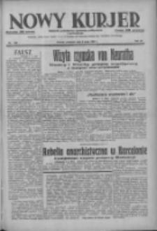 Nowy Kurjer: dziennik poświęcony sprawom politycznym i społecznym 1937.05.06 R.48 Nr103
