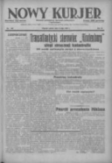Nowy Kurjer: dziennik poświęcony sprawom politycznym i społecznym 1937.05.08 R.48 Nr104