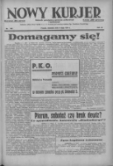 Nowy Kurjer: dziennik poświęcony sprawom politycznym i społecznym 1937.05.09 R.48 Nr105