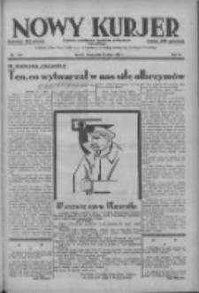Nowy Kurjer: dziennik poświęcony sprawom politycznym i społecznym 1937.05.12 R.48 Nr107
