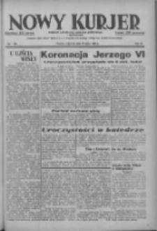 Nowy Kurjer: dziennik poświęcony sprawom politycznym i społecznym 1937.05.13 R.48 Nr108