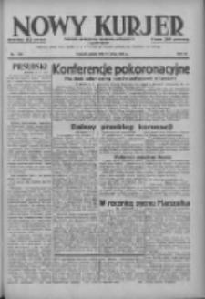 Nowy Kurjer: dziennik poświęcony sprawom politycznym i społecznym 1937.05.14 R.48 Nr109