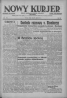 Nowy Kurjer: dziennik poświęcony sprawom politycznym i społecznym 1937.05.19 R.48 Nr112