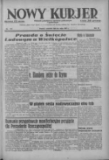 Nowy Kurjer: dziennik poświęcony sprawom politycznym i społecznym 1937.05.20 R.48 Nr113