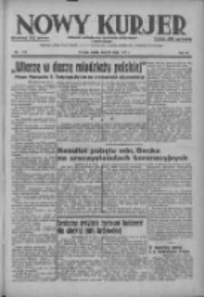 Nowy Kurjer: dziennik poświęcony sprawom politycznym i społecznym 1937.05.21 R.48 Nr114