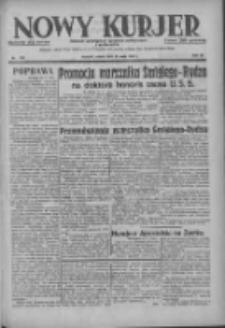Nowy Kurjer: dziennik poświęcony sprawom politycznym i społecznym 1937.05.22 R.48 Nr115