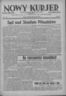 Nowy Kurjer: dziennik poświęcony sprawom politycznym i społecznym 1937.05.23 R.48 Nr116