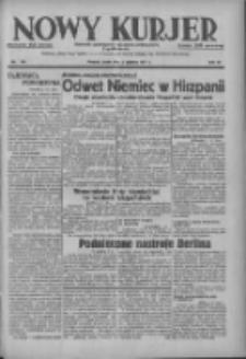 Nowy Kurjer: dziennik poświęcony sprawom politycznym i społecznym 1937.06.02 R.48 Nr123