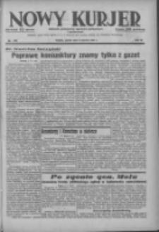 Nowy Kurjer: dziennik poświęcony sprawom politycznym i społecznym 1937.06.05 R.48 Nr126