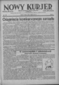 Nowy Kurjer: dziennik poświęcony sprawom politycznym i społecznym 1937.06.06 R.48 Nr127