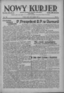 Nowy Kurjer: dziennik poświęcony sprawom politycznym i społecznym 1937.06.08 R.48 Nr128