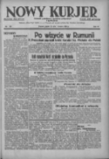 Nowy Kurjer: dziennik poświęcony sprawom politycznym i społecznym 1937.06.11 R.48 Nr131