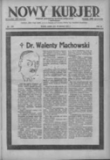 Nowy Kurjer: dziennik poświęcony sprawom politycznym i społecznym 1937.06.18 R.48 Nr137