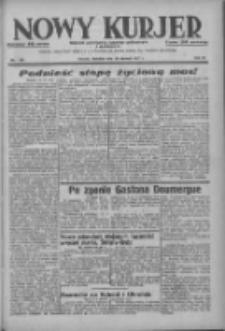 Nowy Kurjer: dziennik poświęcony sprawom politycznym i społecznym 1937.06.20 R.48 Nr139
