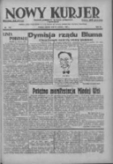 Nowy Kurjer: dziennik poświęcony sprawom politycznym i społecznym 1937.06.22 R.48 Nr140