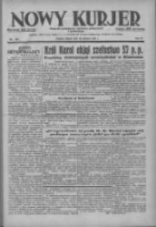 Nowy Kurjer: dziennik poświęcony sprawom politycznym i społecznym 1937.06.29 R.48 Nr146
