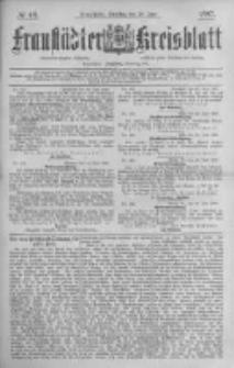 Fraustädter Kreisblatt. 1887.06.28 Nr49