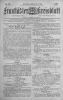 Fraustädter Kreisblatt. 1887.07.01 Nr50