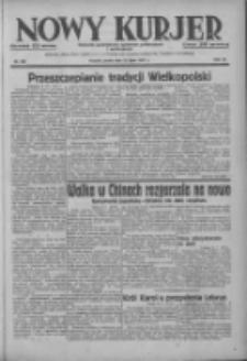 Nowy Kurjer: dziennik poświęcony sprawom politycznym i społecznym 1937.07.14 R.48 Nr158