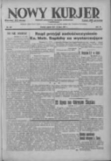 Nowy Kurjer: dziennik poświęcony sprawom politycznym i społecznym 1937.07.16 R.48 Nr160