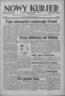 Nowy Kurjer: dziennik poświęcony sprawom politycznym i społecznym 1937.07.18 R.48 Nr162