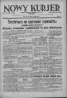 Nowy Kurjer: dziennik poświęcony sprawom politycznym i społecznym 1937.07.21 R.48 Nr164
