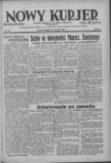 Nowy Kurjer: dziennik poświęcony sprawom politycznym i społecznym 1937.07.22 R.48 Nr165