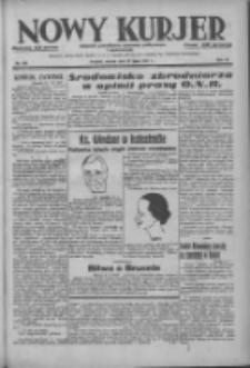 Nowy Kurjer: dziennik poświęcony sprawom politycznym i społecznym 1937.07.27 R.48 Nr169