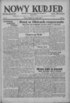 Nowy Kurjer: dziennik poświęcony sprawom politycznym i społecznym 1937.07.29 R.48 Nr171
