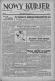 Nowy Kurjer: dziennik poświęcony sprawom politycznym i społecznym 1937.07.30 R.48 Nr172