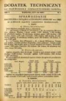 """Dodatek Techniczny do Przewodnika Gimnastycznego """"Sokół"""" 1934.02 R.10 Nr2"""