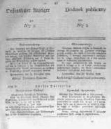 Oeffentlicher Anzeiger zum Amtsblatt No.5 der Königl. Preuss. Regierung zu Bromberg. 1839