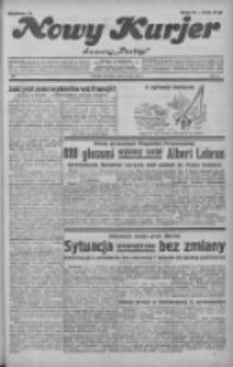"""Nowy Kurjer: dawniej """"Postęp"""" 1932.05.12 R.43 Nr108"""
