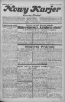"""Nowy Kurjer: dawniej """"Postęp"""" 1932.05.13 R.43 Nr109"""