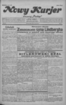 """Nowy Kurjer: dawniej """"Postęp"""" 1932.05.14 R.43 Nr110"""