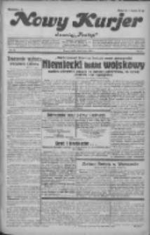 """Nowy Kurjer: dawniej """"Postęp"""" 1932.05.18 R.43 Nr112"""