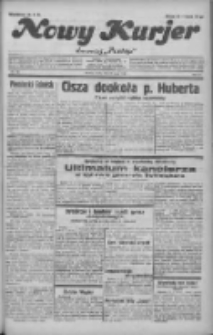"""Nowy Kurjer: dawniej """"Postęp"""" 1932.05.24 R.43 Nr117"""