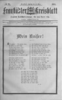 Fraustädter Kreisblatt. 1888.03.16 Nr22