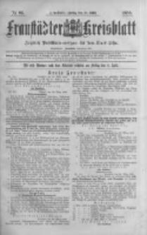 Fraustädter Kreisblatt. 1888.03.30 Nr26