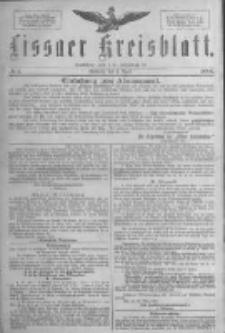 Lissaer Kreisblatt.1888.04.04 Nr1