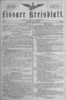 Lissaer Kreisblatt.1888.04.14 Nr4